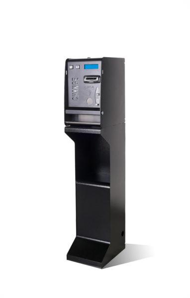 Changeur de monnaie acceptation pièces et billets