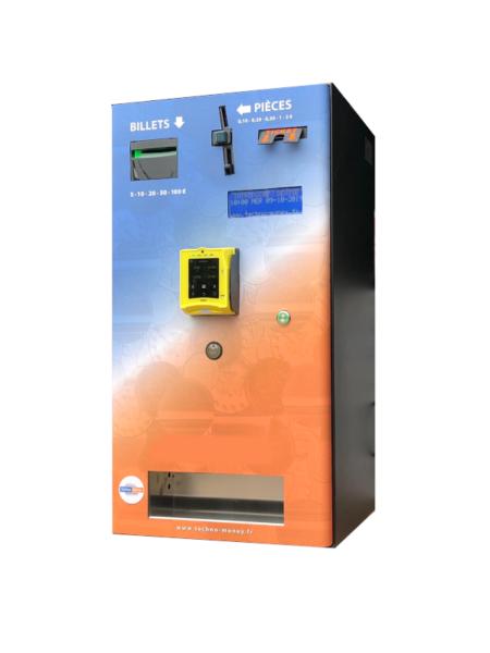 Centrale de paiement acceptation carte bancaire, pièces et billets