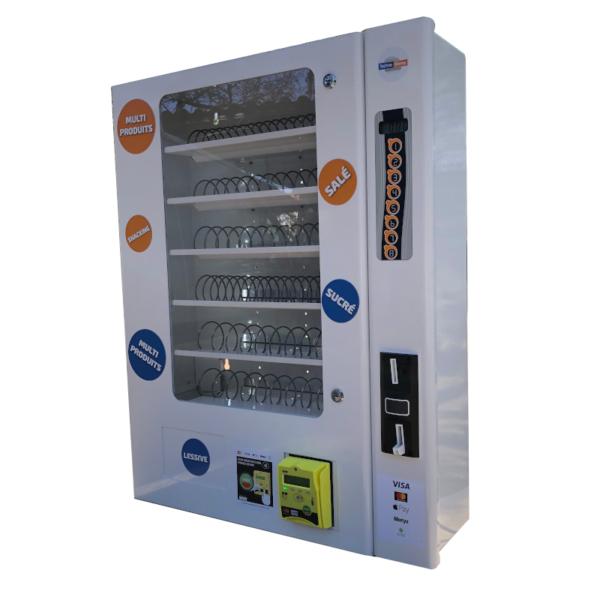 Distributeur automatique multi-produits à carte bancaire