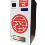 Changeur de monnaie personnalisé
