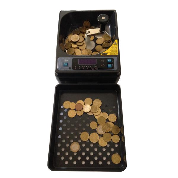 Compteuse de monnaie manuelle